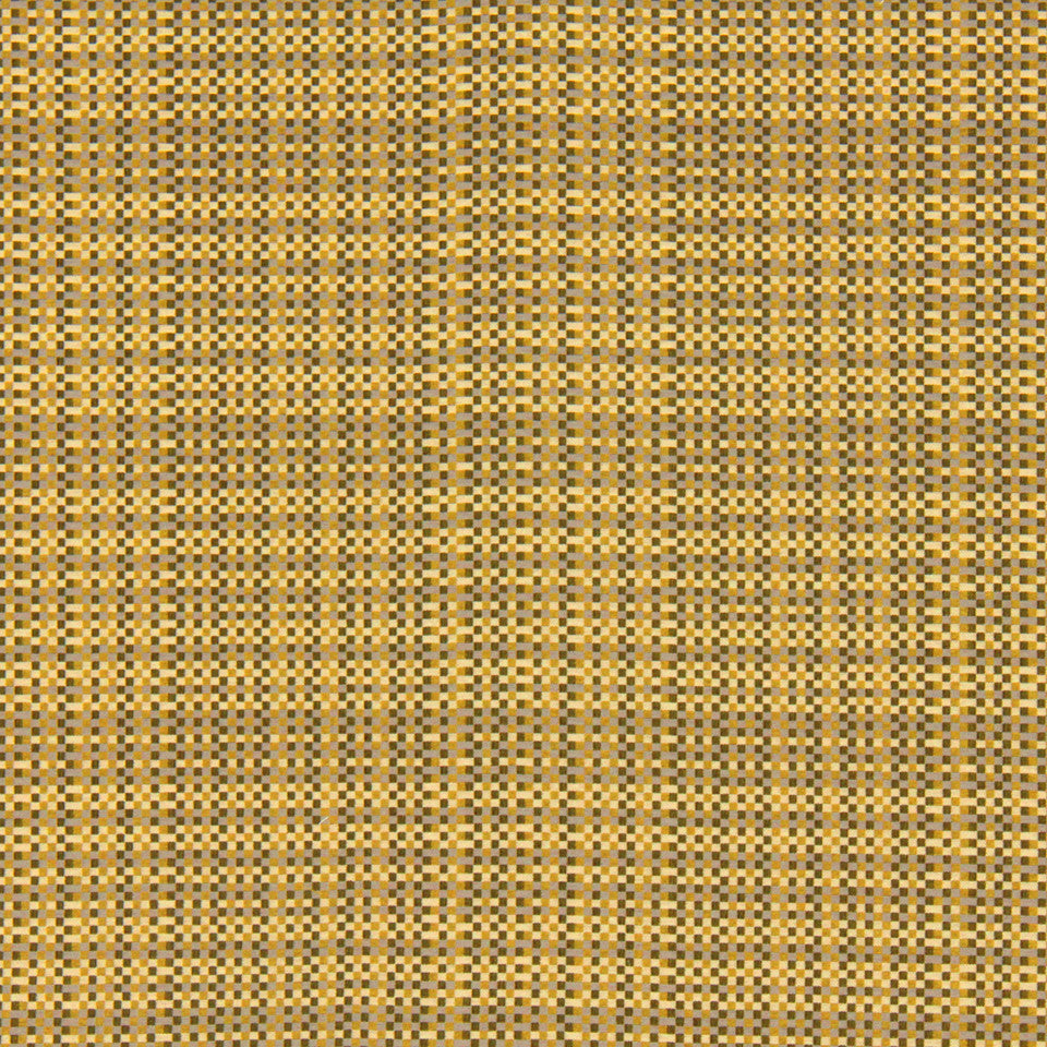 DWELLSTUDIO MODERN COUTURE Pixel Fabric - Chartreuse