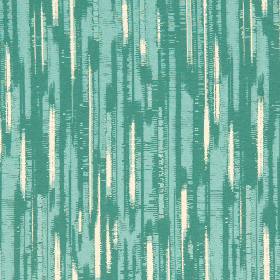 DWELLSTUDIO MODERN COUTURE Modern Tracery Fabric - Glacier