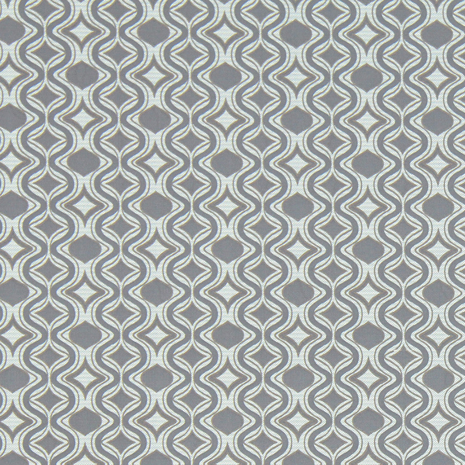MODERN III Diamond Curve Fabric - Platinum