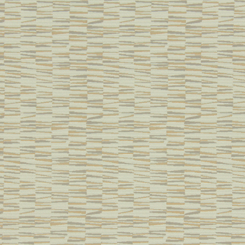 MODERN II Basket Wedge Fabric - Marigold
