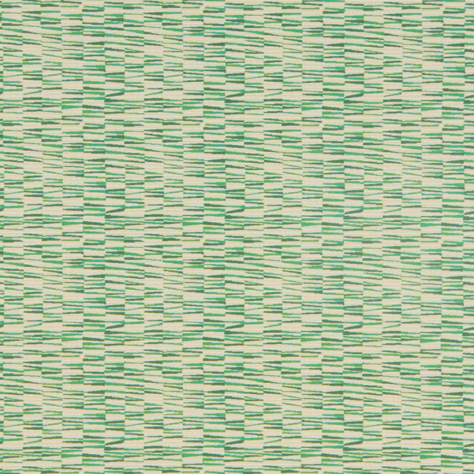 MODERN II Basket Wedge Fabric - Clover