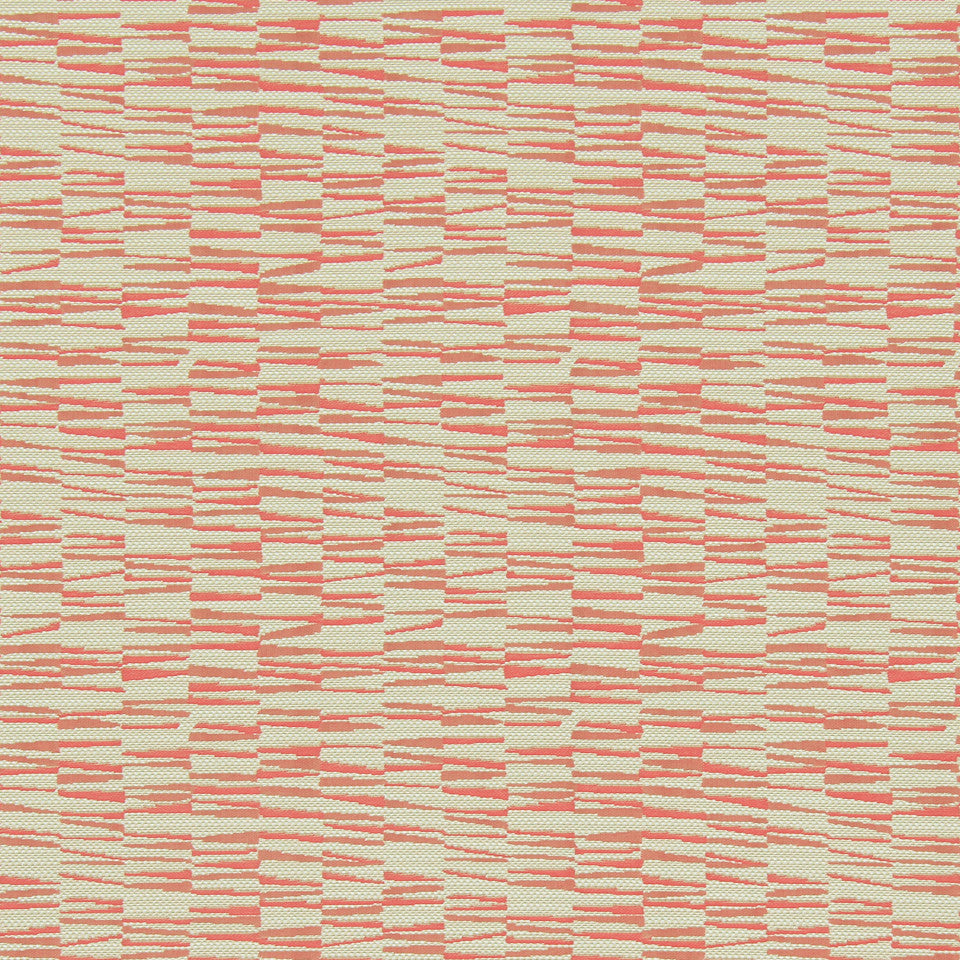 MODERN II Basket Wedge Fabric - Tangerine