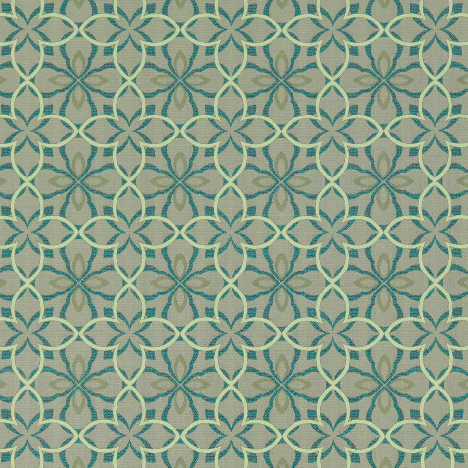 MODERN II Four Leaf Fabric - Clover