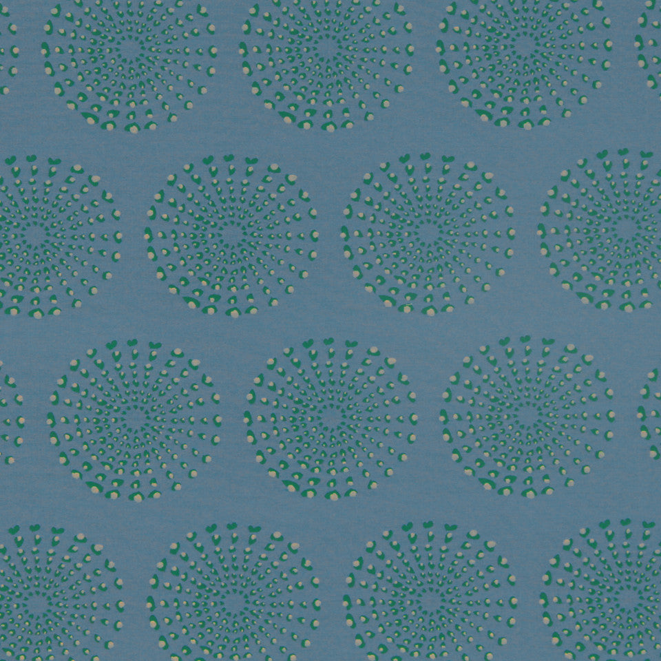 DWELLSTUDIO MODERN COUTURE Dotted Eclipse Fabric - Azure