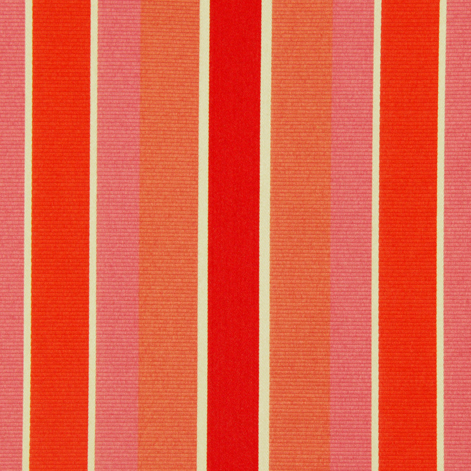 DWELLSTUDIO MODERN COUTURE Summation Fabric - Chili Coral