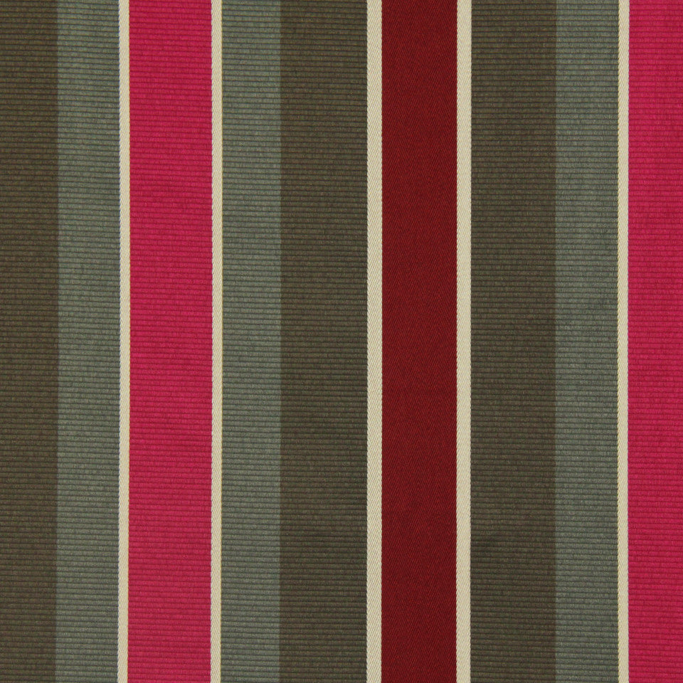 DWELLSTUDIO MODERN COUTURE Summation Fabric - Oxblood