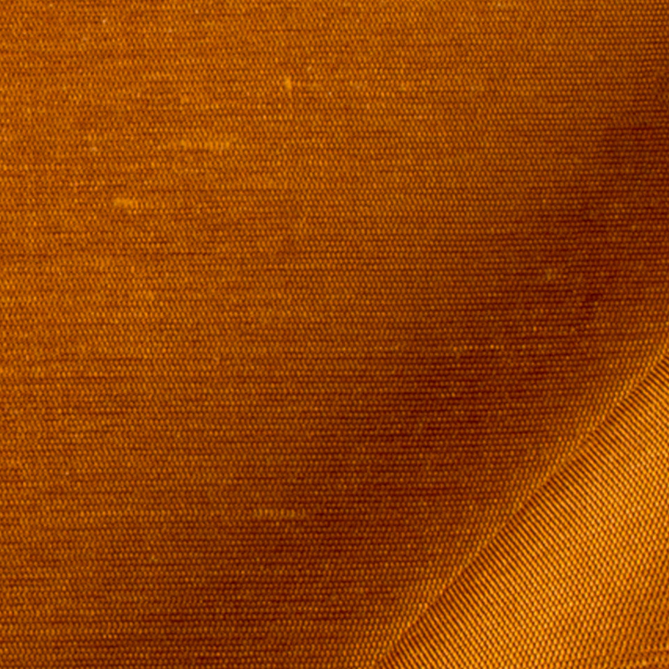 SILK SOLIDS Mulberry Silk Fabric - Copper