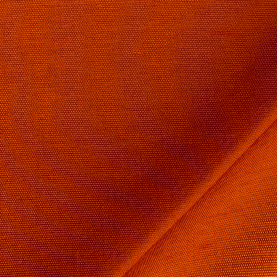 SILK SOLIDS Mulberry Silk Fabric - Coral