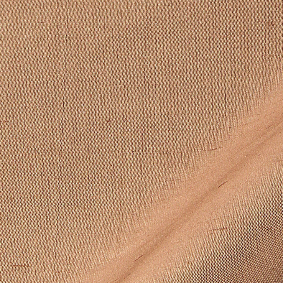 SILK SOLIDS Mysore Silk Fabric - Bark
