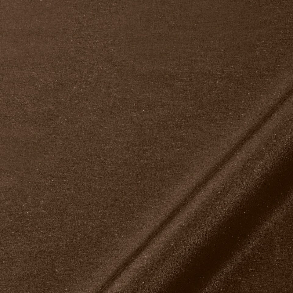 SILK SOLIDS Mysore Silk Fabric - Bear Brown