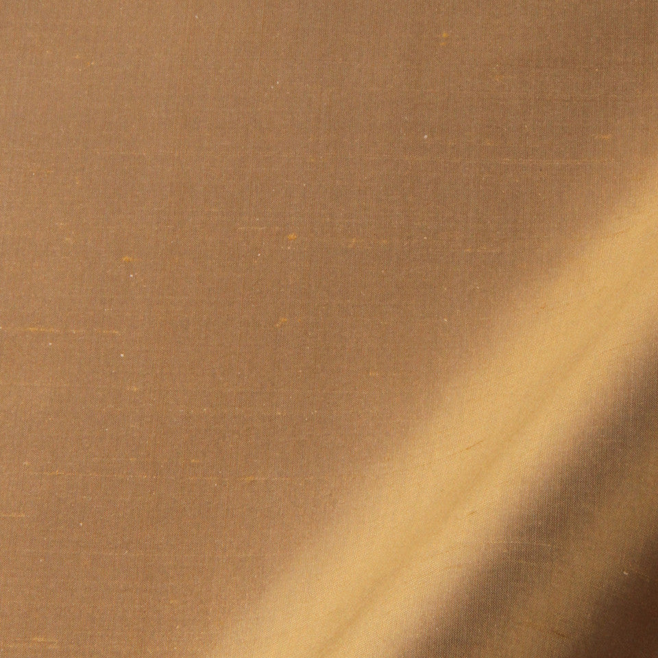 SILK SOLIDS Mysore Silk Fabric - Bronze