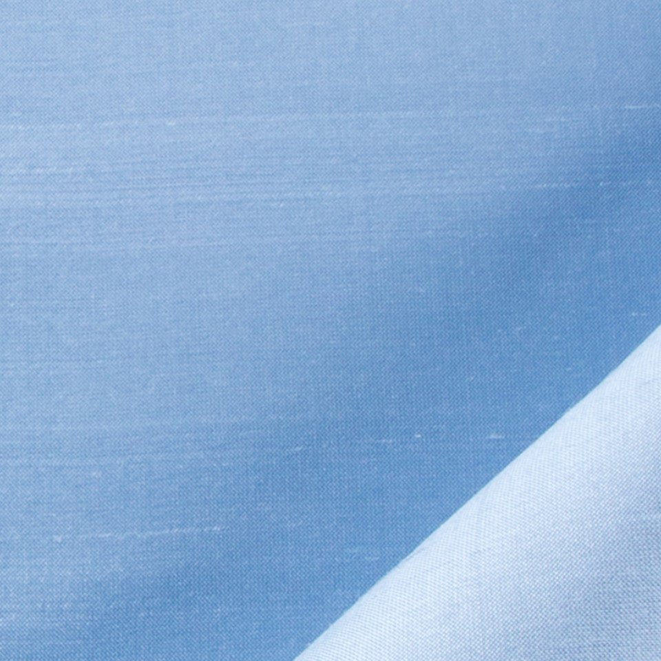 SILK SOLIDS Mysore Silk Fabric - Dove Blue