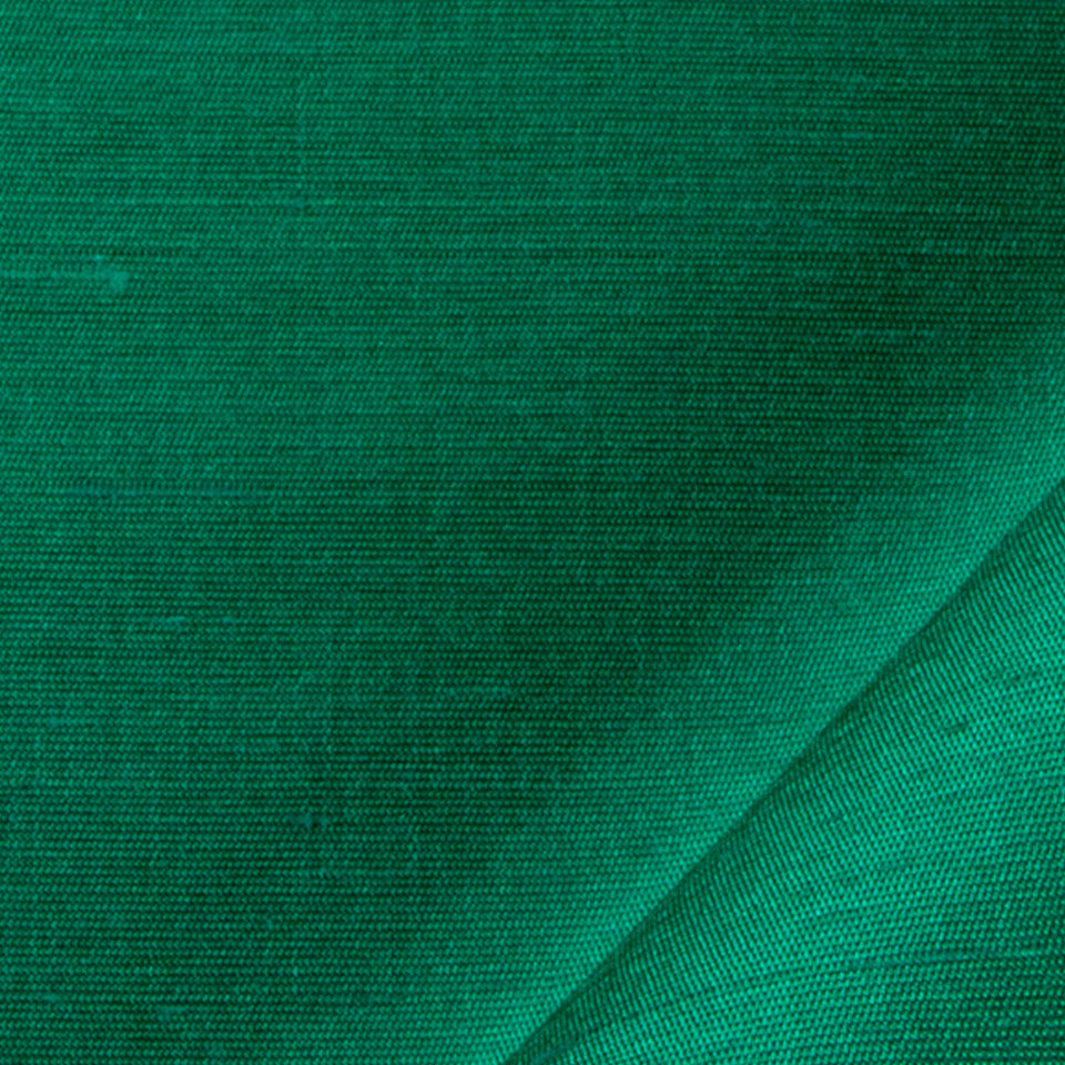 SILK SOLIDS Mulberry Silk Fabric - Emerald