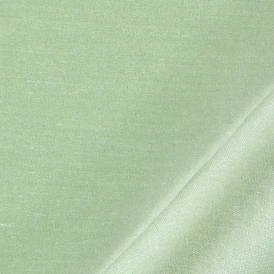 SILK SOLIDS Mysore Silk Fabric - Farm Green