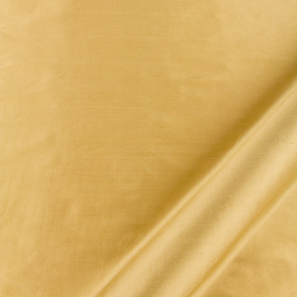 SILK SOLIDS Mysore Silk Fabric - Honey