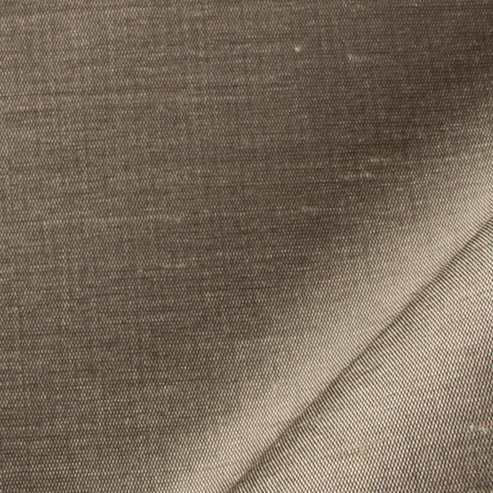 SILK SOLIDS Mulberry Silk Fabric - Gunmetal