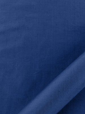 SILK SOLIDS Mulberry Silk Fabric - Indigo