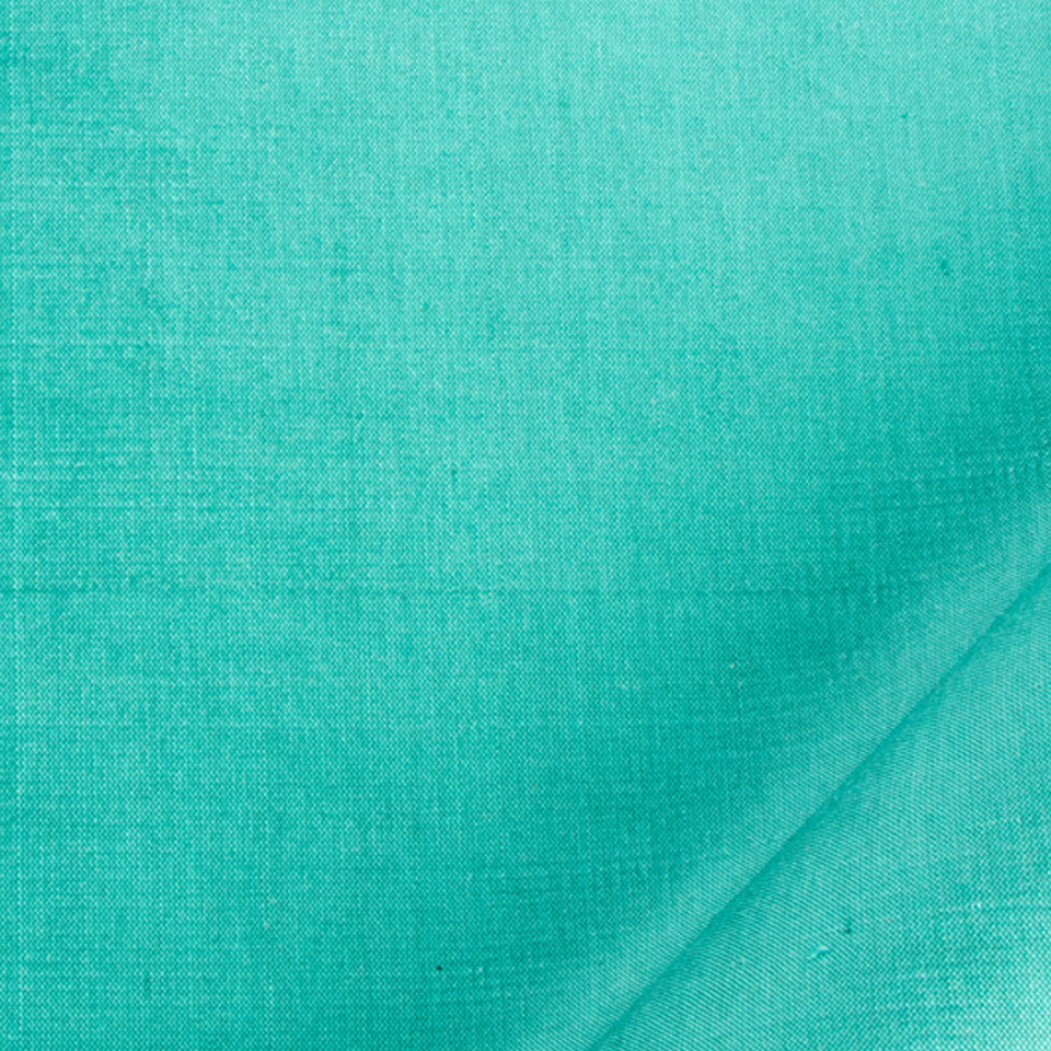 SILK SOLIDS Mysore Silk Fabric - Lagoon