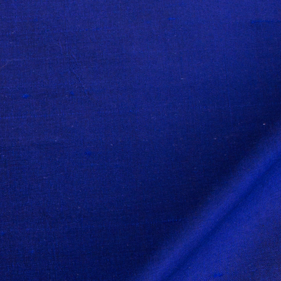 SILK SOLIDS Mysore Silk Fabric - Lapis