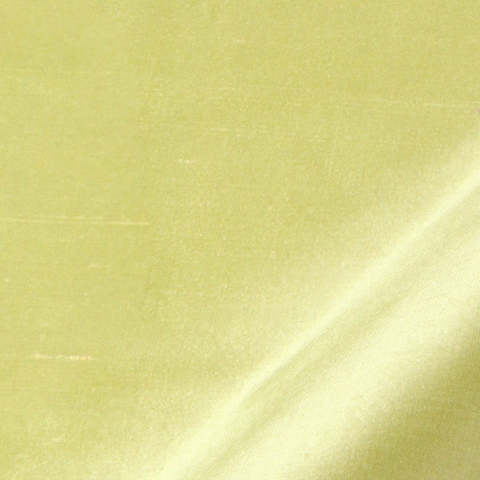SILK SOLIDS Mysore Silk Fabric - Lime