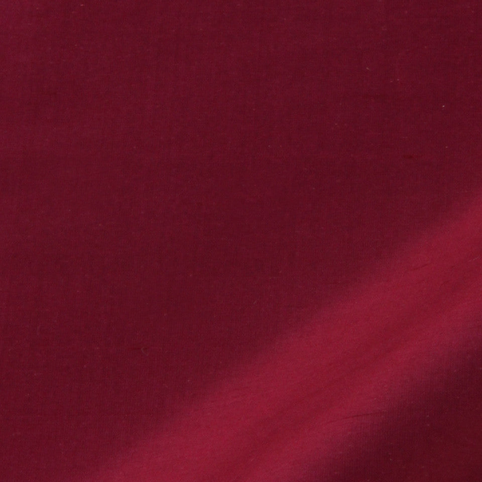 SILK SOLIDS Mysore Silk Fabric - Magenta