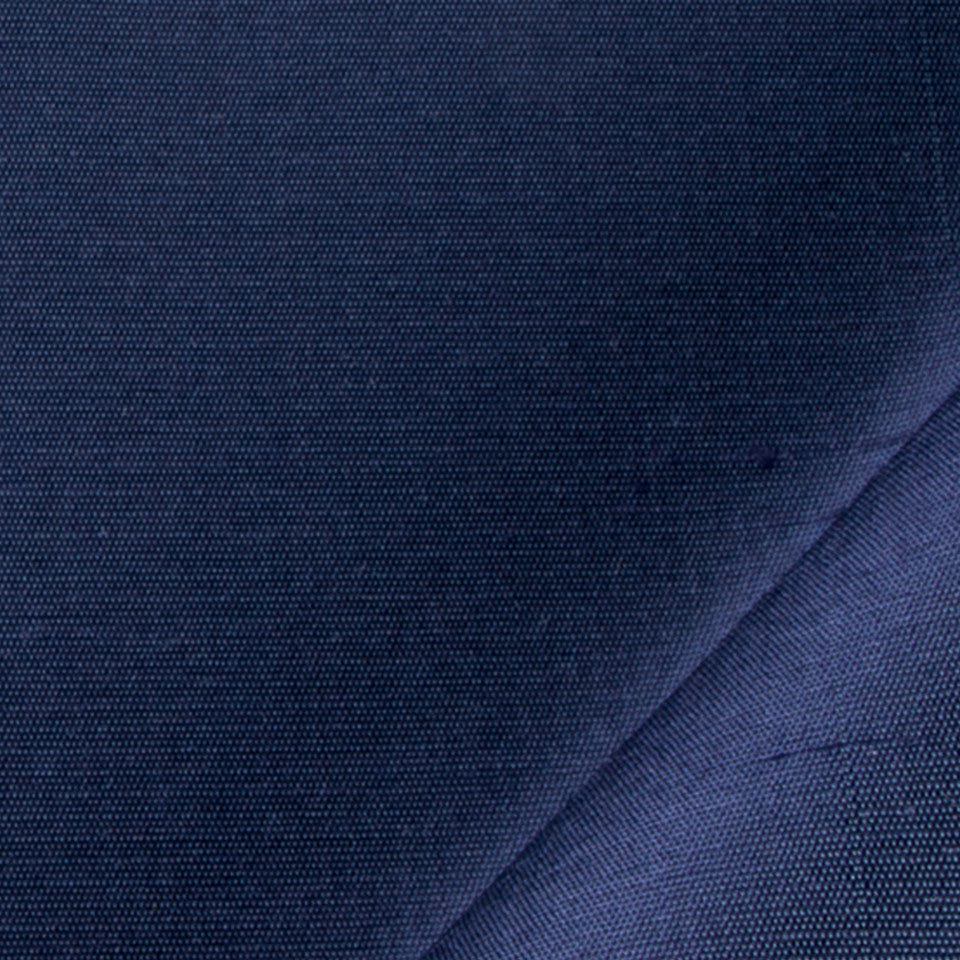 SILK SOLIDS Mulberry Silk Fabric - Midnight