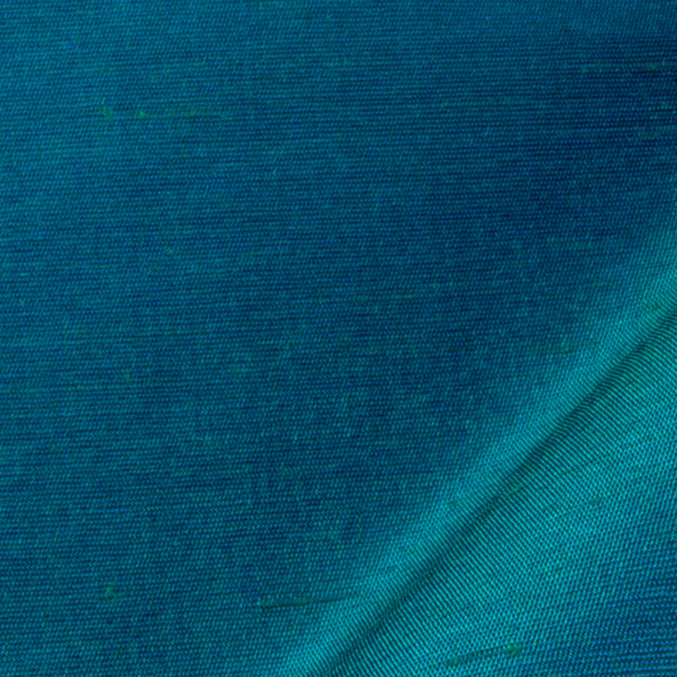 SILK SOLIDS Mulberry Silk Fabric - Neptune