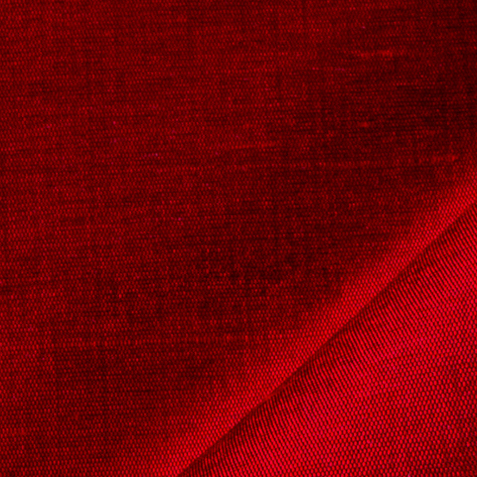 SILK SOLIDS Mulberry Silk Fabric - Scarlet