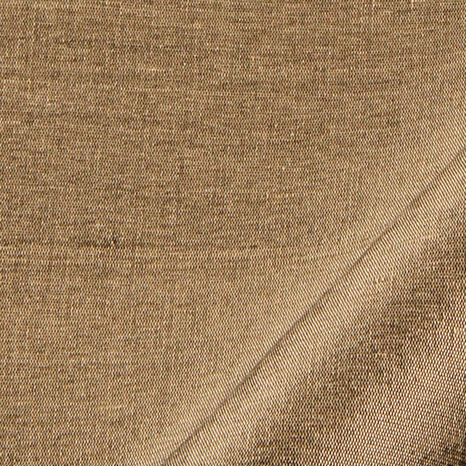 SILK SOLIDS Mulberry Silk Fabric - Truffle
