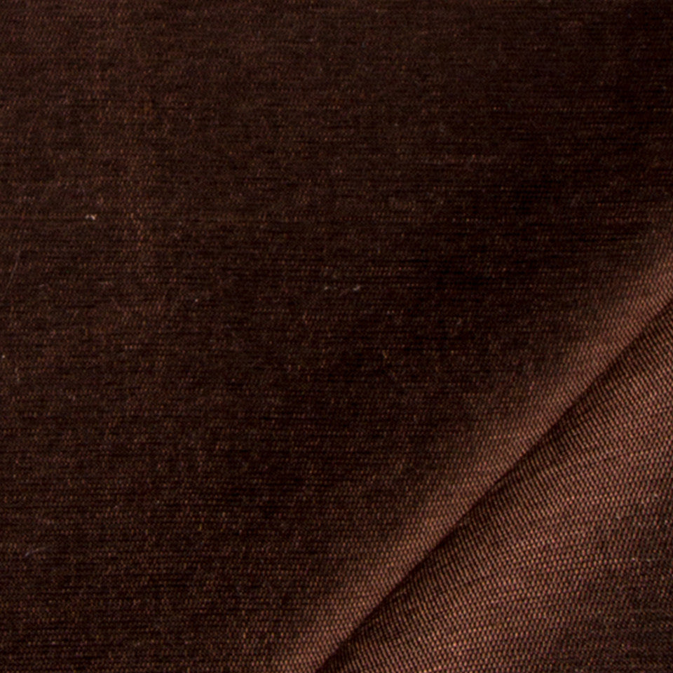 SILK SOLIDS Mulberry Silk Fabric - Walnut