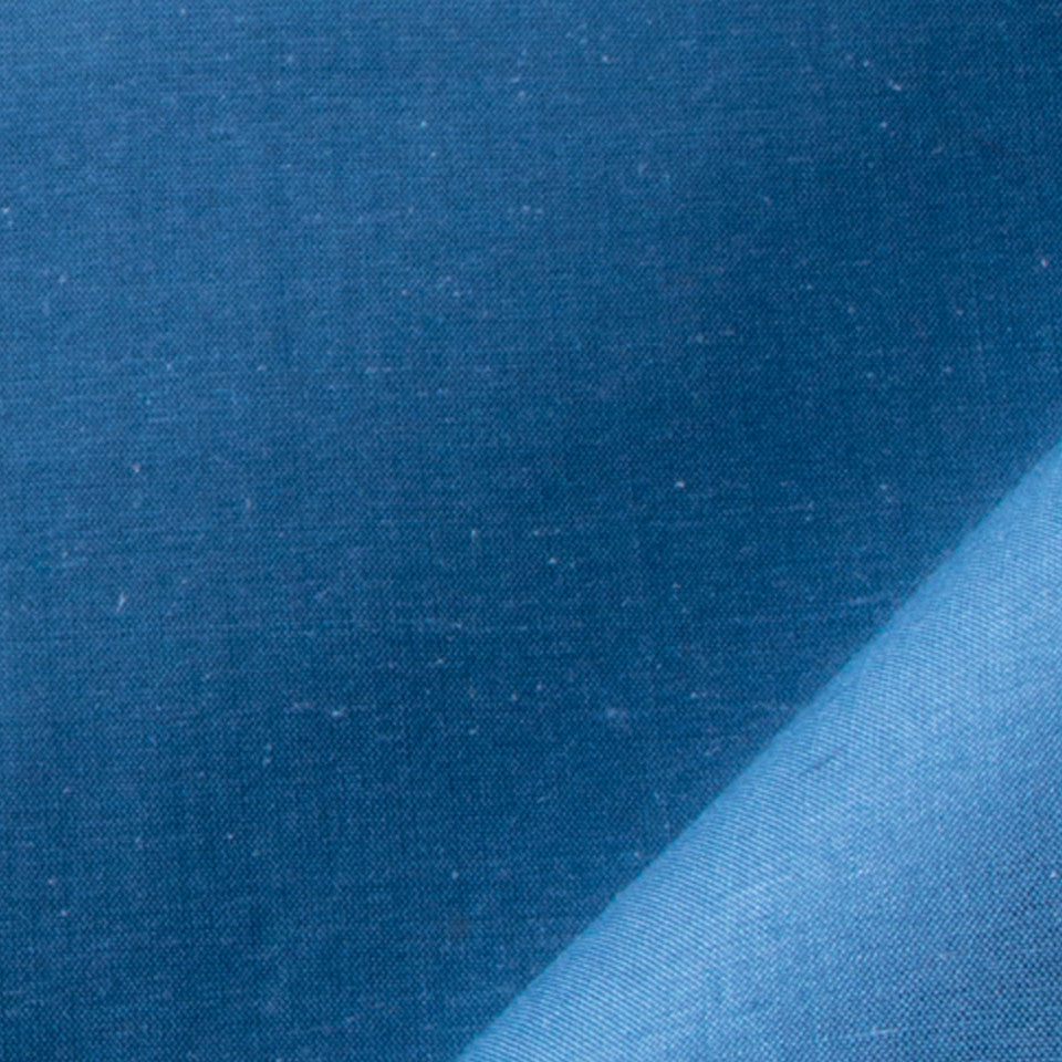 SILK SOLIDS Mysore Silk Fabric - Moon Blue