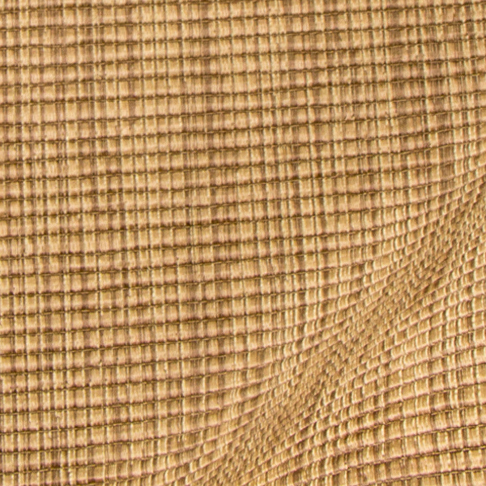 SILK SOLIDS Pattu Ottoman Fabric - Bark