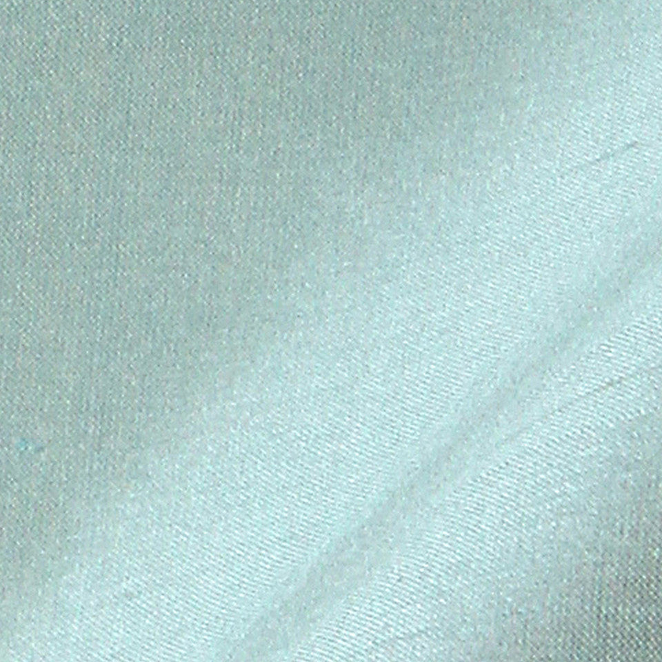 SILK SOLIDS Mysore Silk Fabric - Pacific