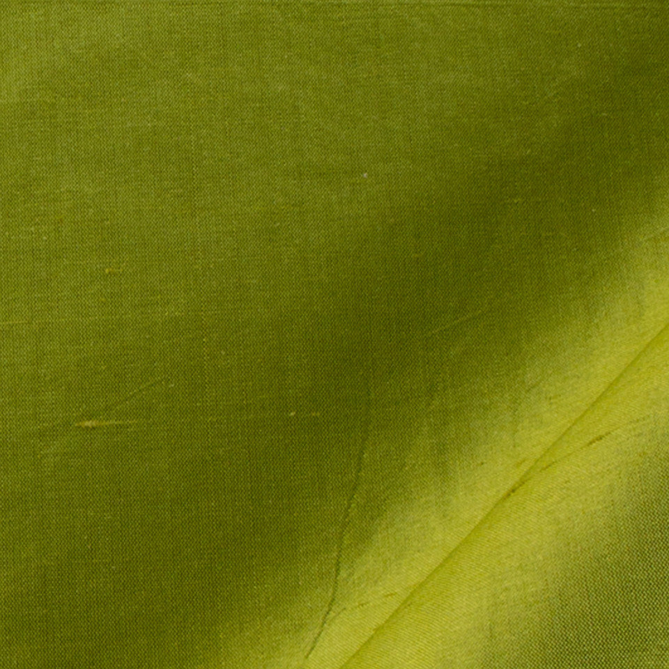 SILK SOLIDS Mysore Silk Fabric - Peapod