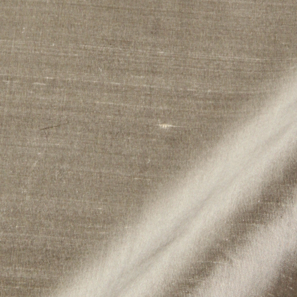 SILK SOLIDS Mysore Silk Fabric - Pewter