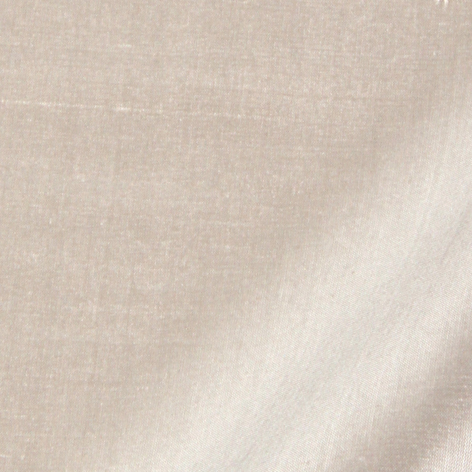 SILK SOLIDS Mysore Silk Fabric - Silver