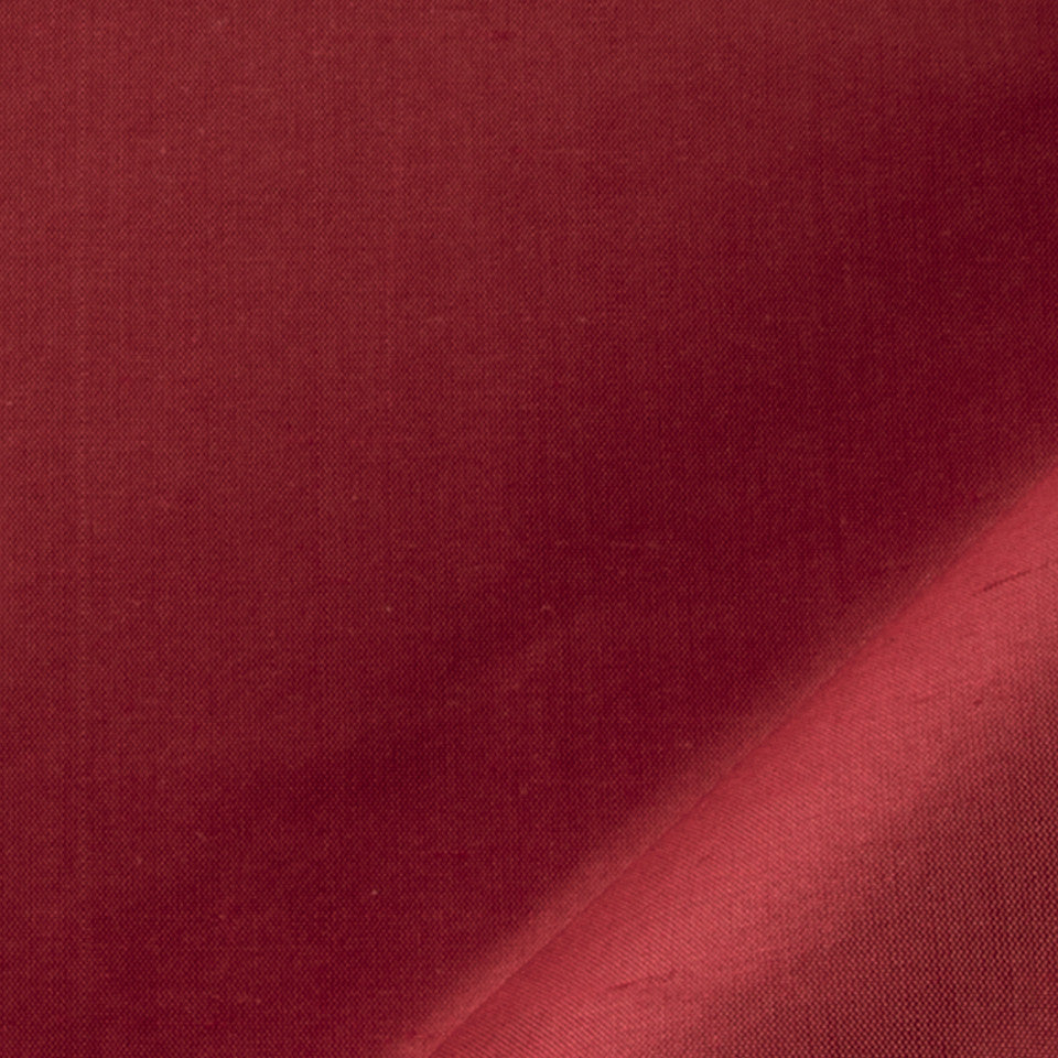 SILK SOLIDS Mysore Silk Fabric - Sundried Tomato