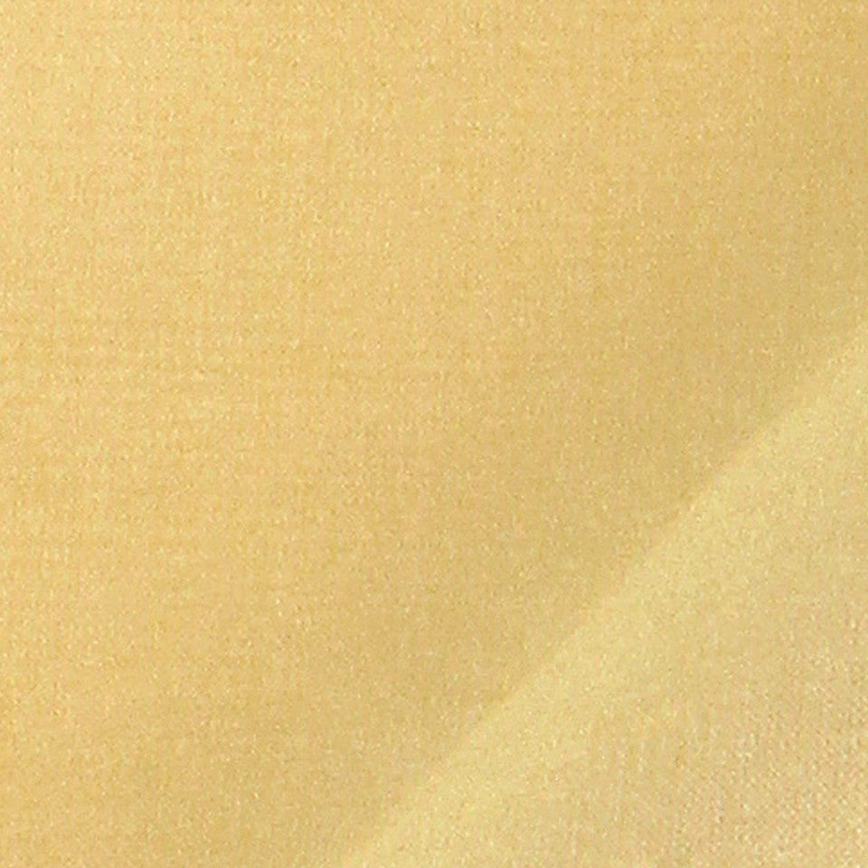 SILK SOLIDS Mysore Silk Fabric - Yellow Lotus
