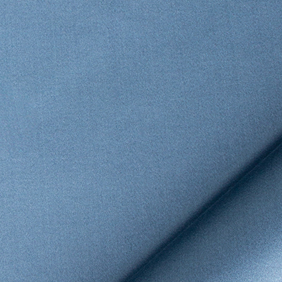 SILK SOLIDS Prism Satin Fabric - Atlantic