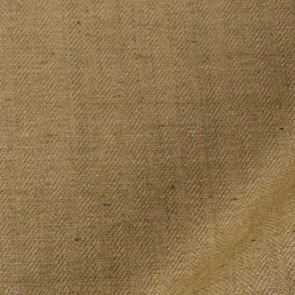 SILK SOLIDS Tussah Silk Fabric - Bamboo
