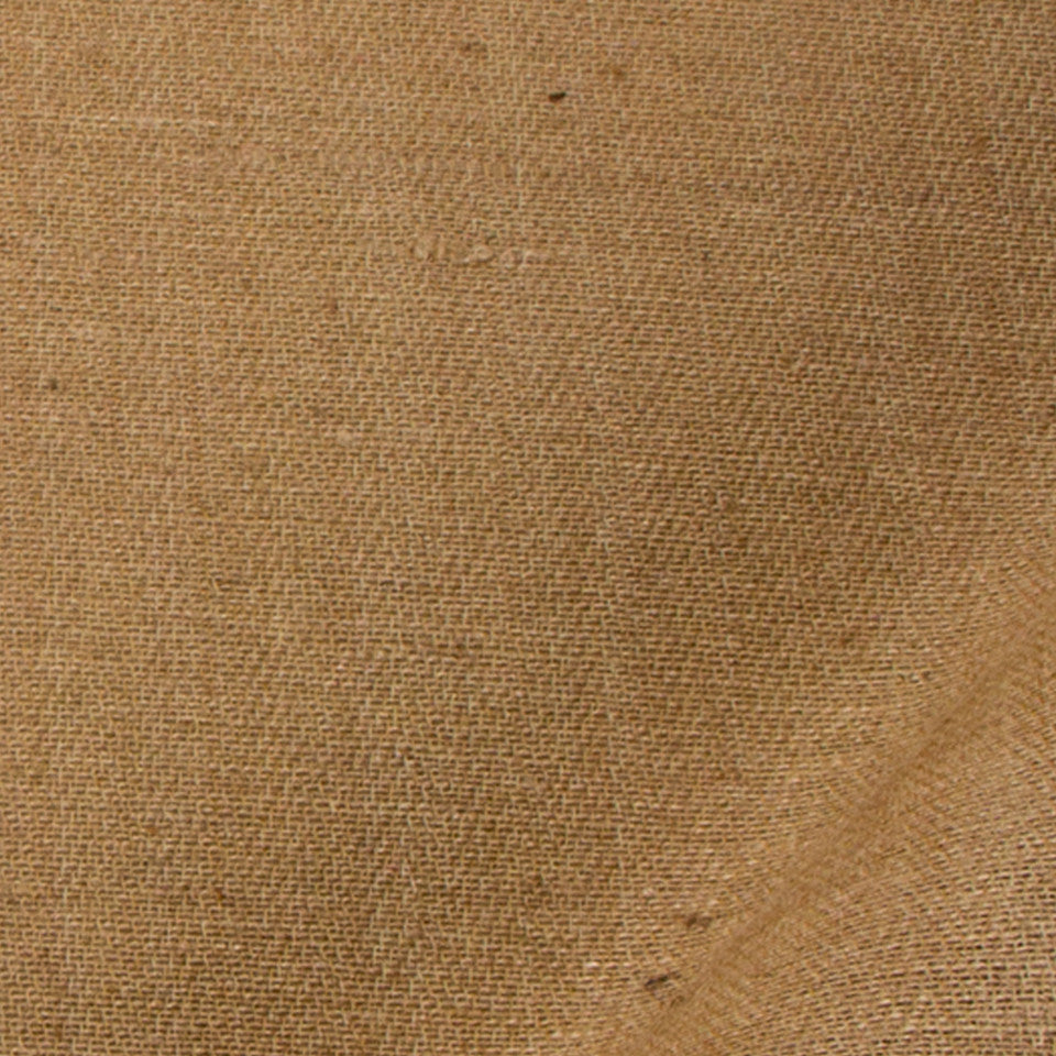 SILK SOLIDS Tussah Silk Fabric - Cashmere