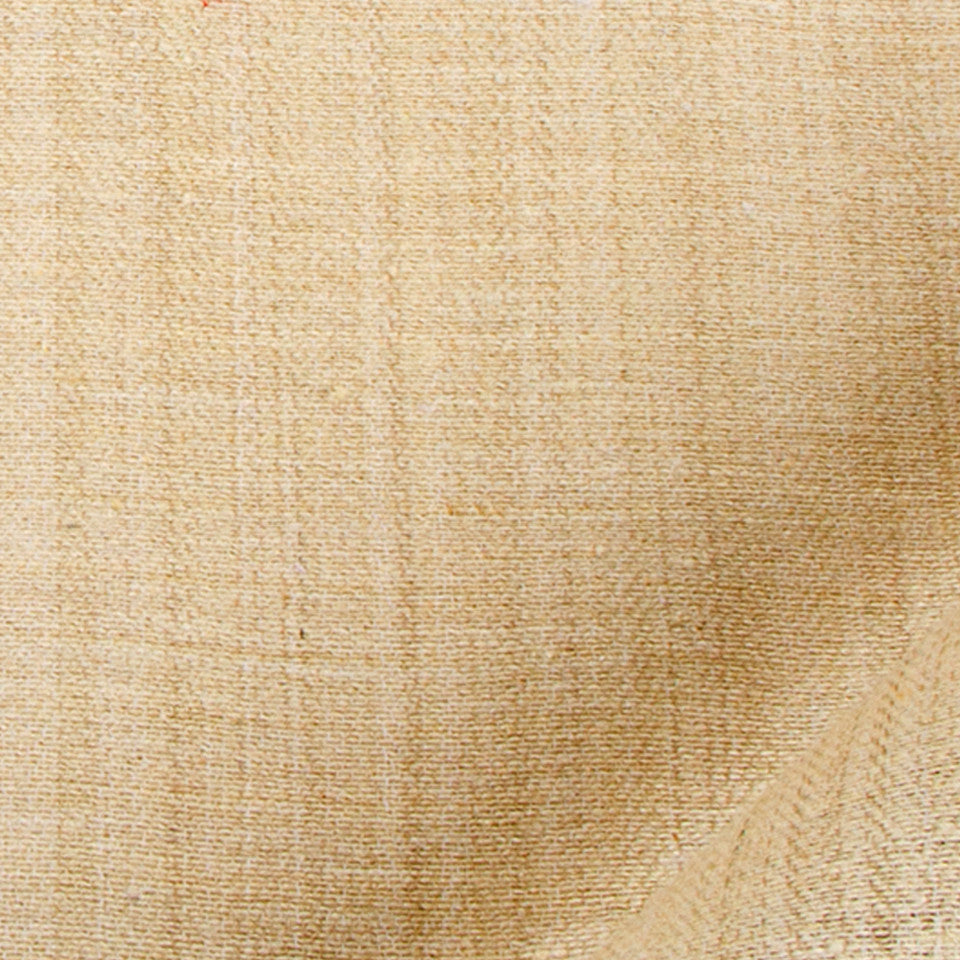 SILK SOLIDS Tussah Silk Fabric - Travertine