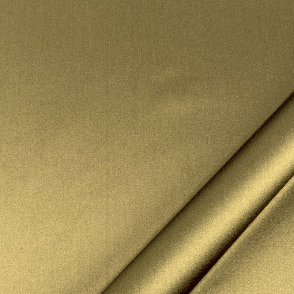SILK SOLIDS Prism Satin Fabric - Dark Coriander