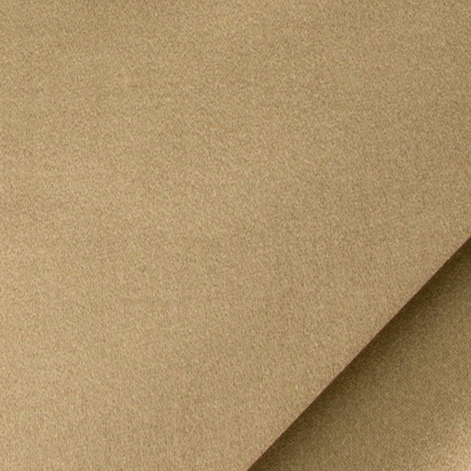 SILK SOLIDS Prism Satin Fabric - Dark Flax