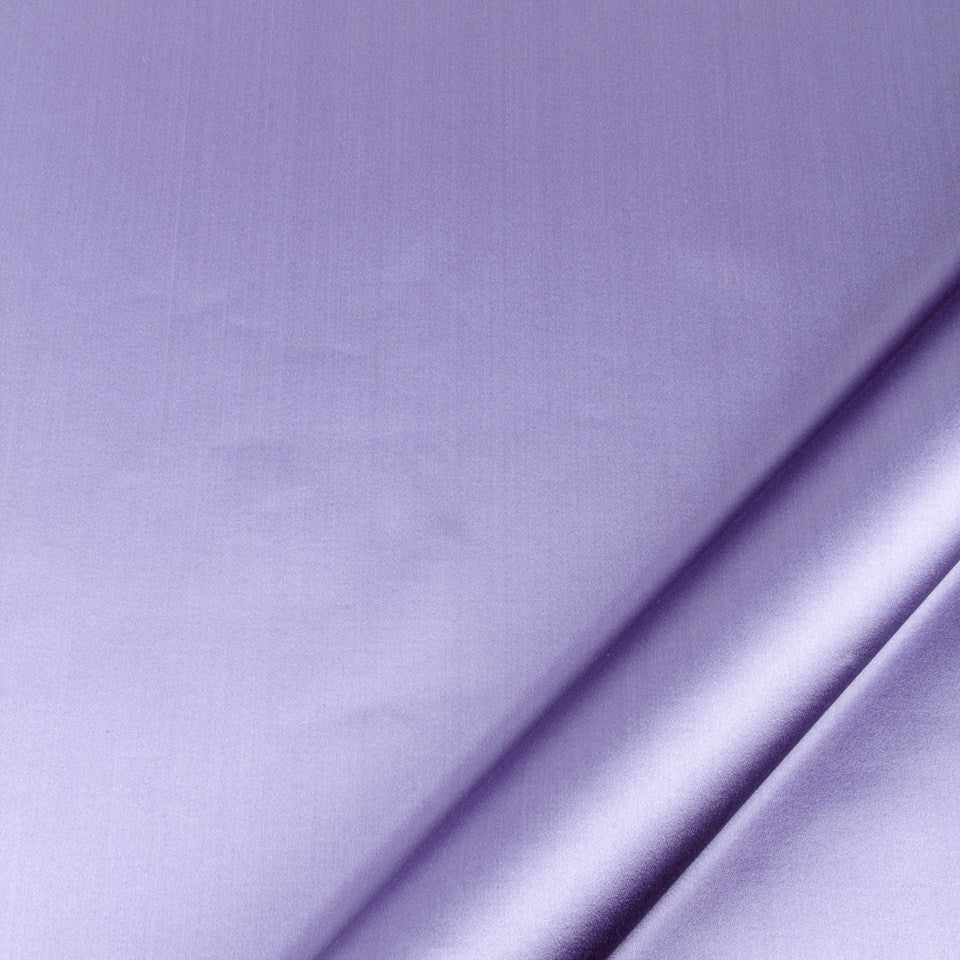SILK SOLIDS Prism Satin Fabric - Hyacinth