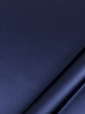 SILK SOLIDS Prism Satin Fabric - Navy