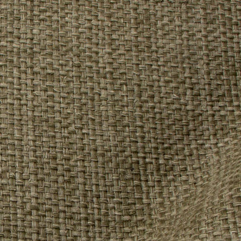 SILK SOLIDS Matka Basket Fabric - Dark Flax