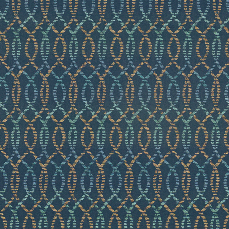 CRYPTON MODERN UPHOLSTERY Helix Wonder Fabric - Baltic