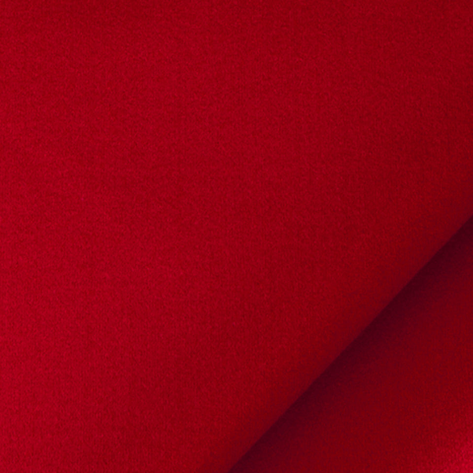 SILK SOLIDS Prism Satin Fabric - Tomato