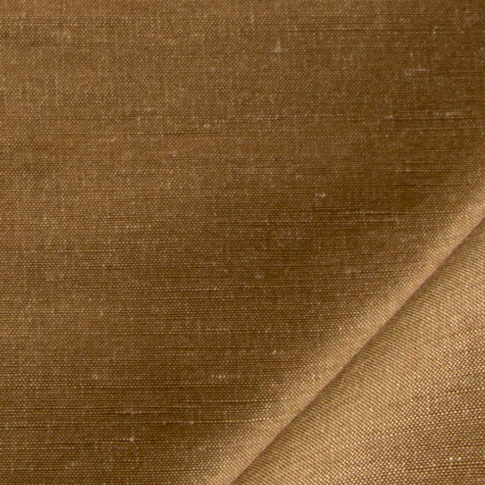 SILK SOLIDS Garlyn Solid Fabric - Bark